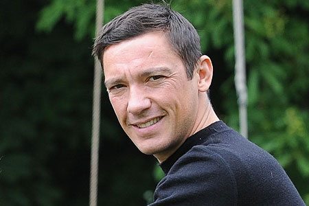 Frankie Dettori: offered to cook us pasta