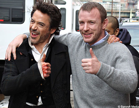 Downey and Guy Ritchie