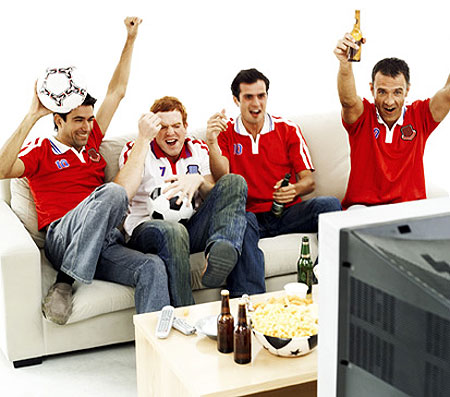 Football fans who love gadgets have it all this year