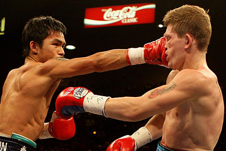 Ricky Hatton admits he was devastated by his defeat to Manny Pacquiao