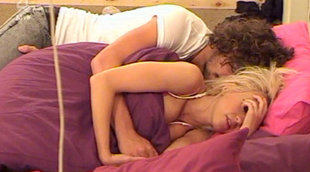 Sophie and Kris are sparking sex rumours in the Big Brother house