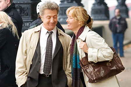 Dustin Hoffman holds your attention in Last Chance Harvey
