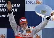Hamilton podium