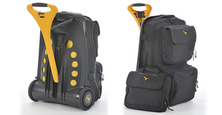 Live Luggage makes dragging baggage that bit easier