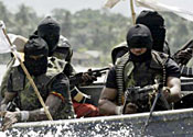 Nigerian militants have carried out a number of attacks recently