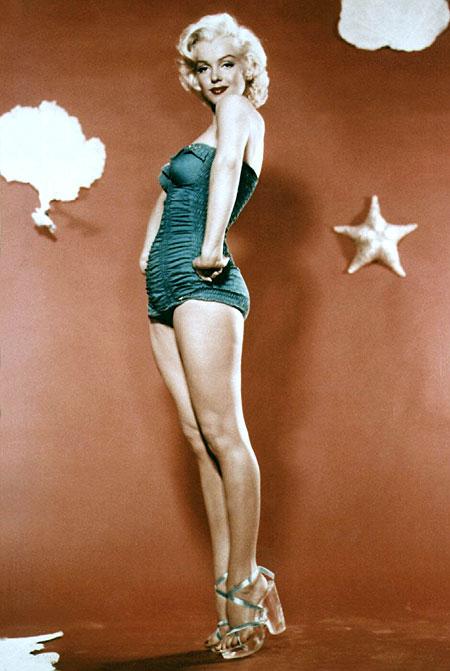 Marilyn Monroe high heels