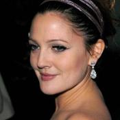 Drew Barrymore made a stunning appearance at a movie premiere