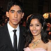 Dev Patel and Frieda Pinto were spotted having lunch together