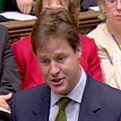 Nick Clegg has amended his MP expenses demands to reach cross-party consensus