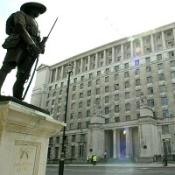 The MoD has announced the death of a British soldier in southern Afghanistan