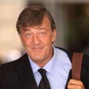 Stephen Fry said it was important men talked about their problems