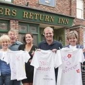 Coronation Street's Sally Whittaker  is backing ActionAid's Povertee Day