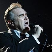 Morrissey performs at the Manchester Apollo to celebrate his 50th birthday