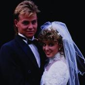 Scott and Charlene's wedding is on the DVD