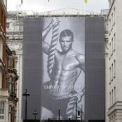 David Beckham stars in Emporio Armani's new underwear campaign