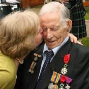 Harry Patch has celebrated his 111th birthday