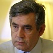 Gordon Brown is renewing his attack on Tory spending cuts
