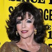 Joan Collins has admitted she's not a massive fan of Banksy