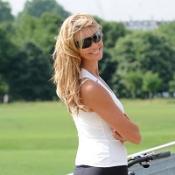 Elle Macpherson is encouraging people to get on their bikes