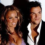 Katie Price and Peter Andre,who separated after three-and-a-half years of marriage