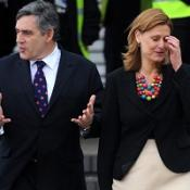 Gordon Brown is flying to Italy for a summit of leaders of the G8