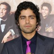 Adrian Grenier wonders why the other men care about his crotch