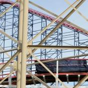 More than 30 people have been injured on a roller coaster at Blackpool's South Shore
