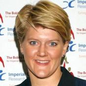 Clare Balding is relieved her treatment was successful