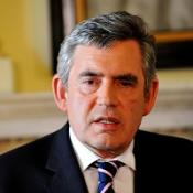 Gordon Brown said he was saddened that a body believed to be a British hostage has been passed to Iraqi authorities