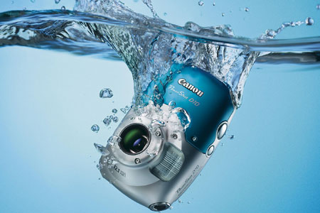 Dunk it, swim with it - Canon's new waterproof Powershot camera
