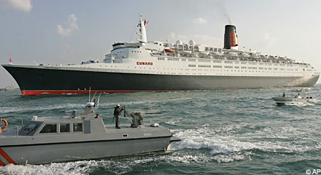 QE2 bows out