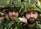 Beard soldiers