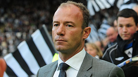 Alan Shearer Newcastle boss