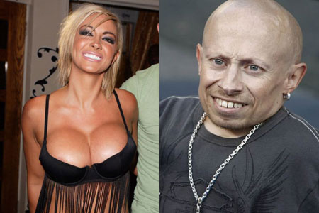verne Troyer og ranae shrider sex video
