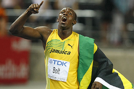 Usain Bolt fuels speculation he could play football for Jamaica
