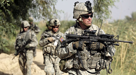 US soldiers have been in Iraq for six years