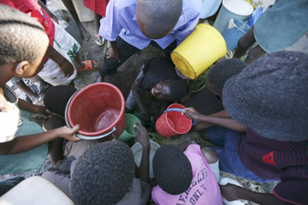 Poverty-stricken Zimbabwe is in crisis