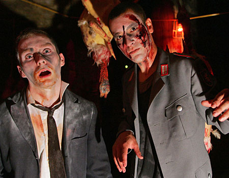 Zombies Louie McKenna and Jeremiah O'Connor