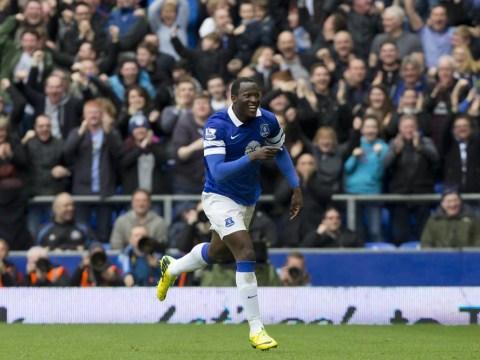 Romelu Lukaku scores wondergoal against Arsenal then flattens Roberto Martinez with celebration