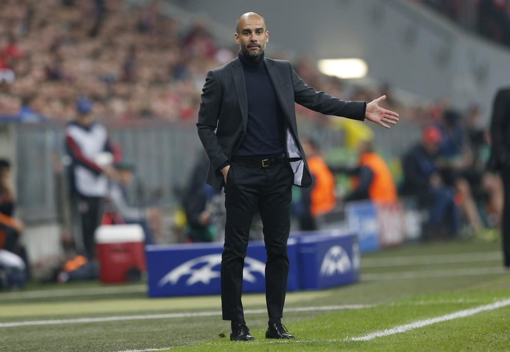 Pep Guardiola looked smart on the touchline for Bayern Munich but not on the field against Real Madrid