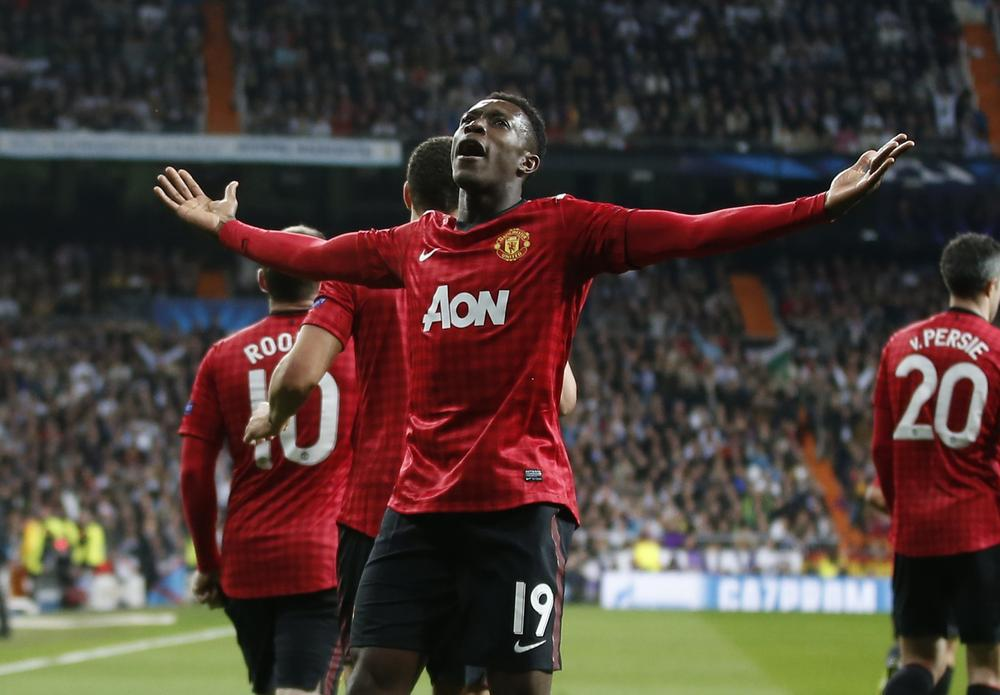 Danny Welbeck joined Arsenal because he wasn't up to Manchester United standard, says Louis van Gaal
