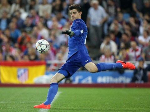 Uefa insist Thibaut Courtois can play for Atletico Madrid against Chelsea in Champions League semi-finals