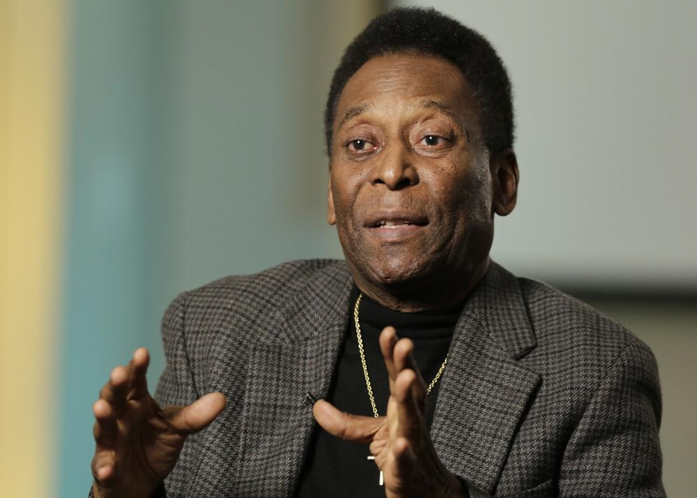 Pele's hair turned into diamonds for special World Cup souvenir