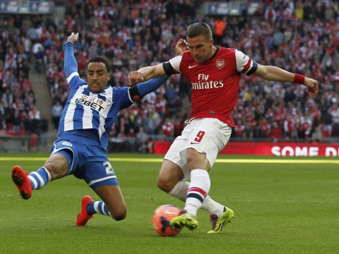 Lukas Podolski fed up of being substituted by Arsenal boss Arsene Wenger