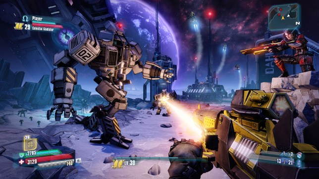 Borderlands: The Pre-Sequel - not available on next gen