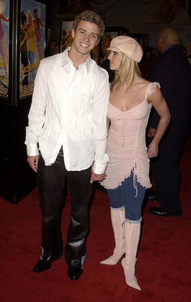 Justin Timberlake & Britney Spears in all their Noughties finery (Picture: SGranitz/WireImage)