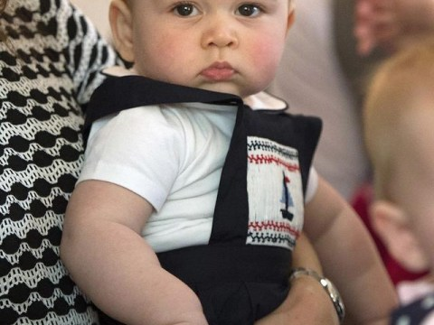 Prince George smile watch: The royal scale of grumpiness