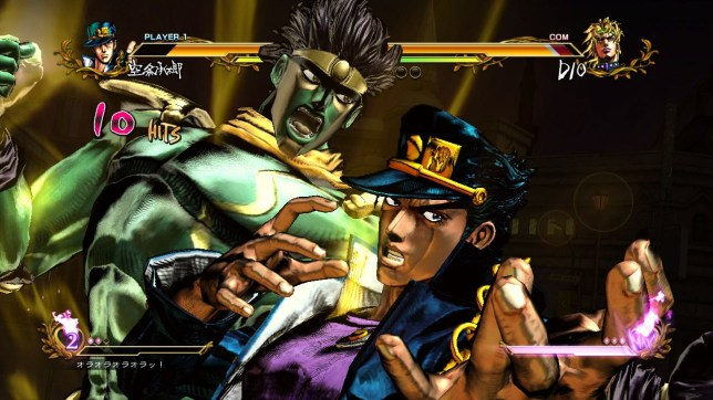 JoJo's Bizarre Adventure: All Star Battle (PS3) – this is about as non-bizarre as the game gets