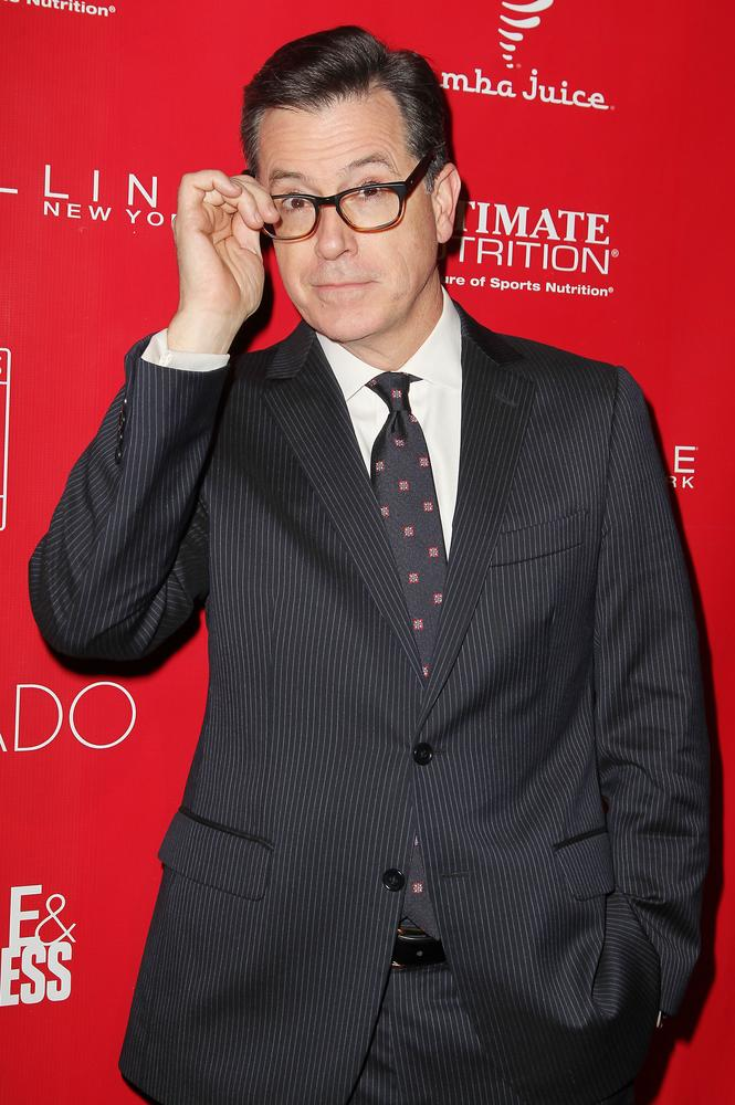 Stephen Colbert tipped as the 'front-and-centre candidate' to take over from David Letterman