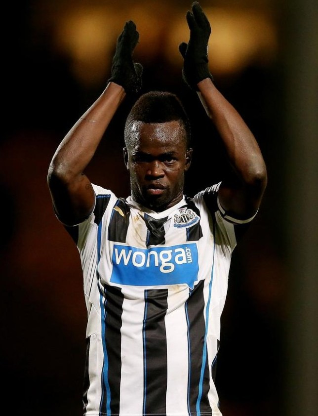 Cheick Tiote in action for Newcastle (Picture: Getty Images)